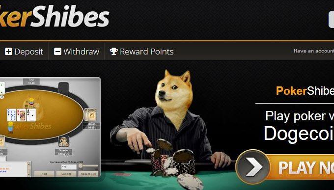 Jogando Pôker com Dogecoin