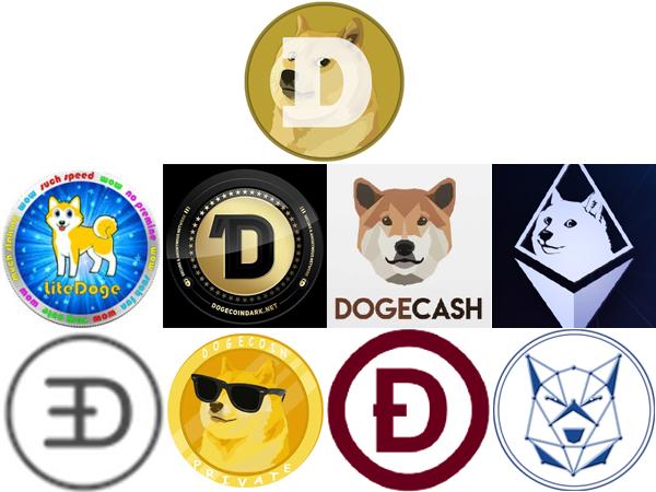 Derivações do Dogecoin